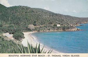 Beautiful Morning Star Beach, St. Thomas, U.S. Virgin Islands, Antilles, 40-60s