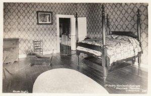 RP; VINCENNES, Indiana, 1930-40s; Wm. Harrison's Bedroom, Harrison Mansion