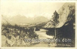 CPR Hotel Bow River Canada 1923