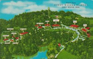 Mississippi Piney Woods Aerial View Piney Woods School 1968