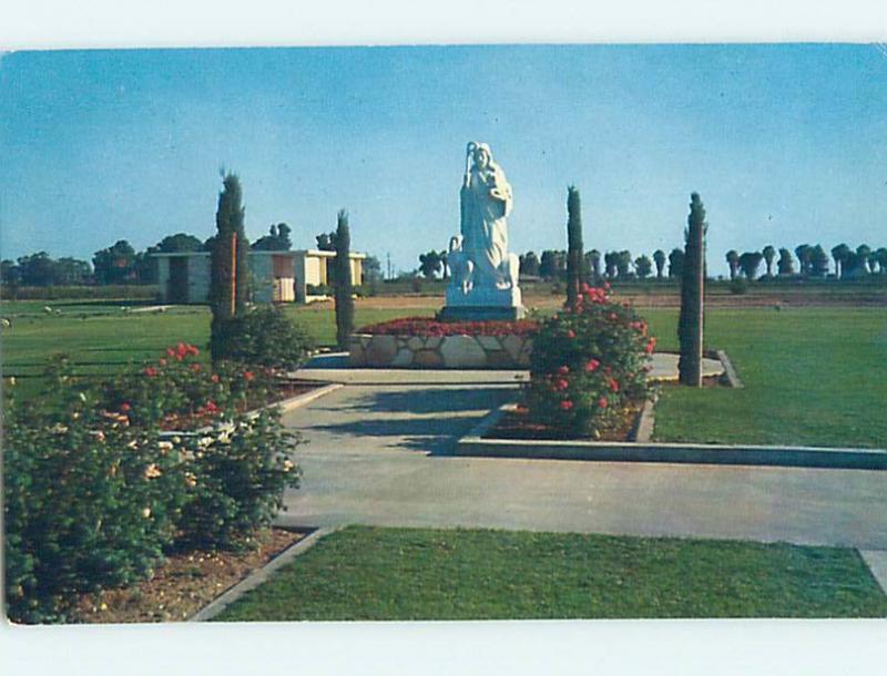 Pre-1980 MONUMENT Fresno California CA HJ7933