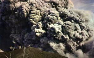 costa rica, Eruption of the Irazú Volcano (1960s)