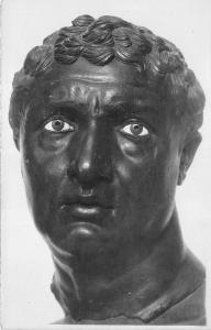 BR6112 Musee  d Athenes tete D un Prince Hellenistique Delos postcard greece