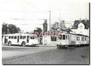 Postcard Modern Endstation Sieker Bielefeld put Strabenbahn