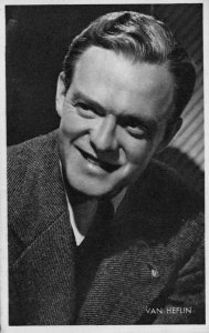 Van Heflin Vintage Rare Kwatta Film Movie Postcard Size Photo