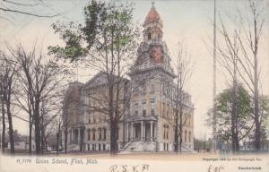 FLINT, Michigan, PU-1906; Union School