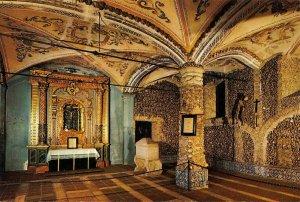 Portugal Evora Church of Sao Francisco Chapel of Bones Postcard
