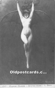 Russian Nude Postcard Artist Albert Penot Unused