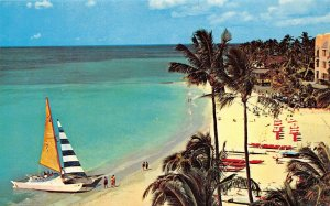 LP19   Oahu Waikiki Beach   Hawaii Postcard