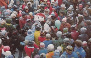 Arrivee du Bonhomme Carnaval,  Quebec,  Canada,  40-60s