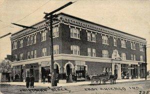 LP34   East Chicago   Indiana Vintage Postcard Friedman Block