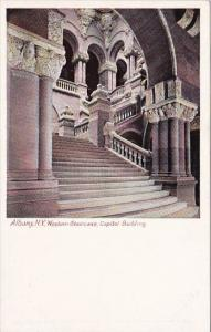 New York Albany Western Staircase Capitol Building