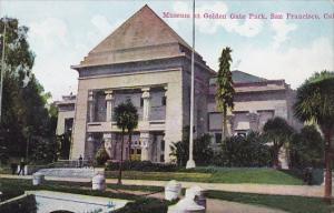 Carlifornia San Francisco Museum At Golden Gate Park