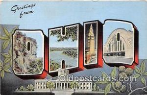 Ohio, USA Postcard Post Cards Ohio, USA