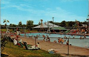 Bowling Green KY~Beech Bend Amusement Park Rides~Swim Pool~Ferris Wheel~ 1950s