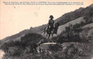 Statue de Napoleon Laffrey France 1932