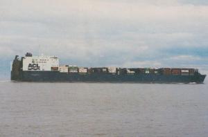 MV Companion Express Gothenburg ACL Ship Rare Postcard