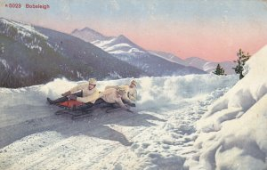GRINDELWALD , Switzerland , 1913 ; Bobsleigh