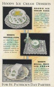ST. PATRICK'S DAY ; Hood's Ice Cream Deserts , 00-10s