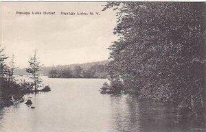New York Oquaga Lake Oquaga Lake Outlet Albertype