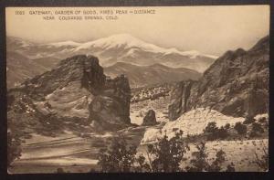 Gateway, Garden of Gods, Near Colorado Springs, Colo. 1265