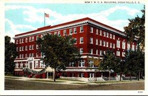 South Dakota Sioux Falls New Y M C A Building Curteich
