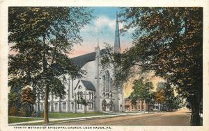 Lock Haven Pennsylvania~Trinity Methodist Episcopal Church~Business~1917