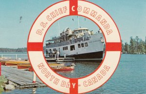 NORTH BAY , Ontario , 1950-60s ; D.S. CHIEF COMMANDA