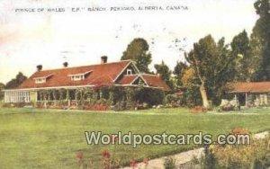 Prince of Wales EP Ranch, Pekisko Alberta Canada 1929