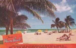 Florida Miami Beach Sun Bathers