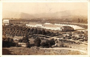 Pomona California 1935 RPPC Real Photo Postcard Los Angeles County Fair