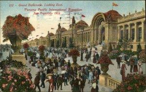 San Francisco 1915 Panama Paicific Expo Grand Esplanade Used 1913 Postcard