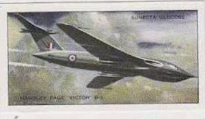 R L Jones Vintage Trade Card 1956 Jet Aircraft Of The World No 21 Handley Pag...
