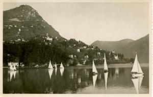Switzerland - Lugan, Monte Bre - RPPC