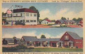 BALTIMORE, MD , 30-40s Steward Modern Brick Cottages