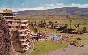 Hawaii Maui Sheraton Maui Resort Hotel With Pool Kaanapali Beach 1963