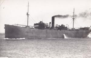 Inchkeith New Zealand War Ship Minesweeper Old Plain Back Postcard Photo