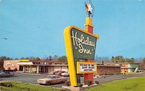 Lumberton North Carolina~Holiday Inn~1960 Postcard