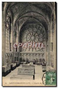 Old Postcard Saint Germain en Laye Chapel