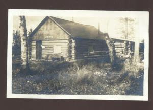 RPPC REELFOOT LAKE TENNESSEE OTTER LODGE CABIN VINTAGE REAL PHOTO POSTCARD
