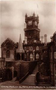 CPA Lisboa- Sintra, Palacio da Pena, entrada para a capela. PORTUGAL (760644)
