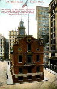 MA - Boston Old State House