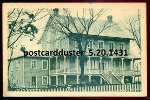 1431 - STE. ANNE DE LA POCATIERE Quebec Postcard 1920s Presbytery