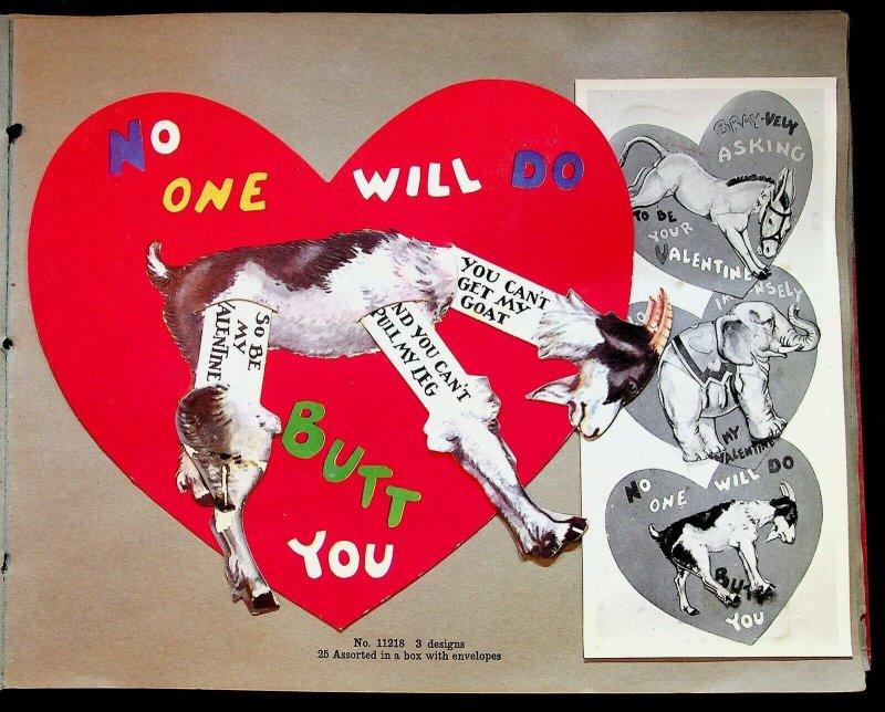 Scarce 1931 Valentine Samples Catalog Whitney Co Worcester Massachusetts 48 Page