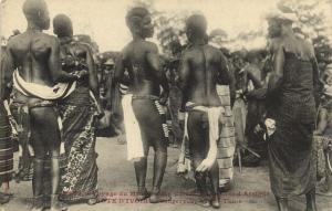 CPA Senegal Ethnic Nude Fortier - 2572. Voyage du Ministre des Colonies (71131)