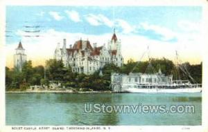 Boldt Castle Thousand Islands NY Postal Used Unknown