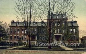 St. Mary's Orphan Asylum Dunkirk NY 1909