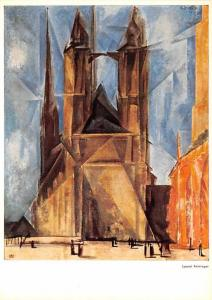 Lyonel Feininger - Cathedral at Halle