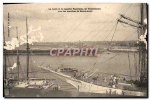 Old Postcard The Loire And The Beautiful Panorama View From The Trentemoult S...