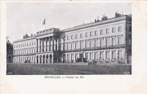 Belgium Brussells Palais Du Roi